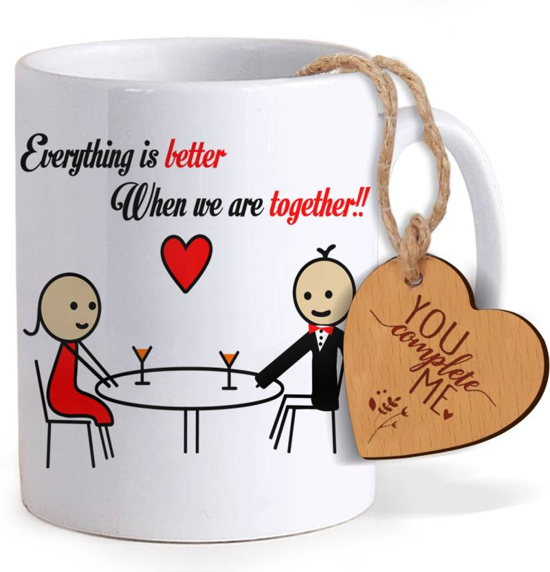 a9f2109e332da Tiedribbons Valentine s Day Special Gifts for Him Coffee Mug with ...