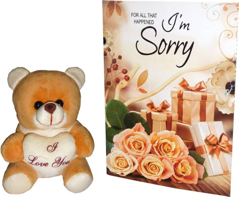 Siddhi Gifts I'M Sorry Gifts For Girlfriend Greeting Card Gift Set
