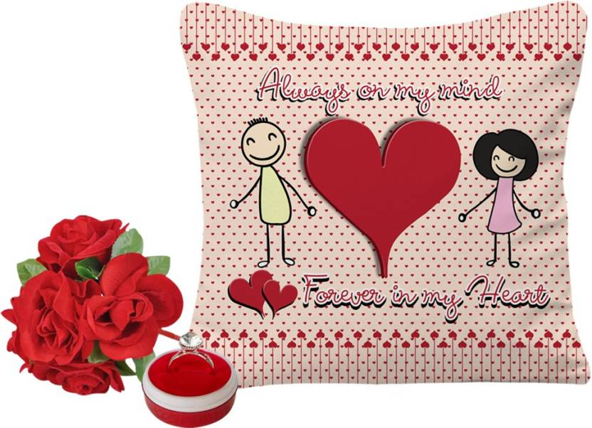 Sky Trends Valentine Gift For Boyfriend Printed 12x12 Inchs Cover