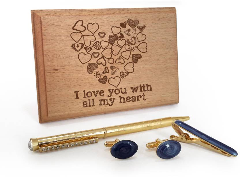 Tiedribbons Valentine Day Romantic Gifts For Husband Golden