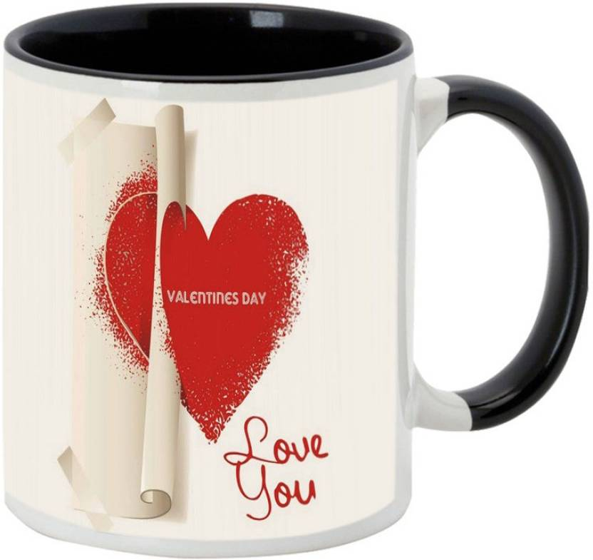 alluprints special gift for boyfriend on valentines day black
