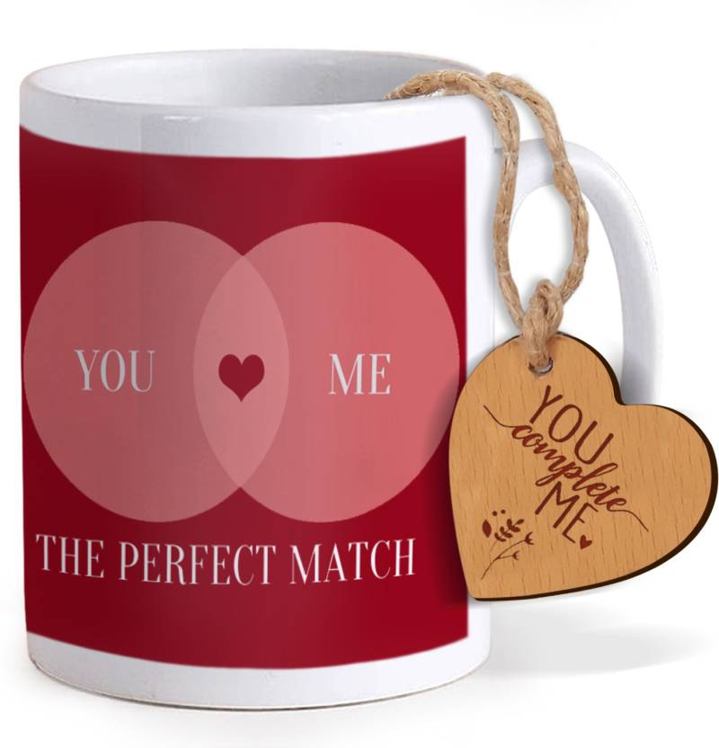 41f3ffb0e327 Tied Ribbons Valentine s Day Gifts for Boyfriend Coffee Mug with Wooden tag Mug  Gift Set Price in India - Buy Tied Ribbons Valentine s Day Gifts for ...