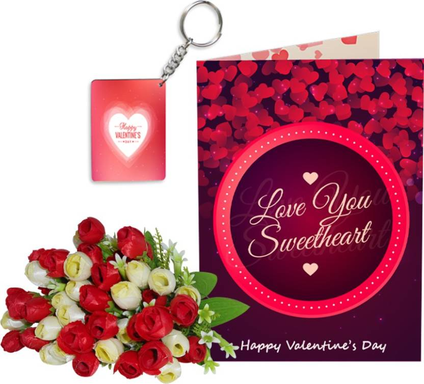 SKY TRENDS Velentinetine Day Girlfriend Boyfriend Birthday Stgs139 Greeting Card Gift Set Price In India