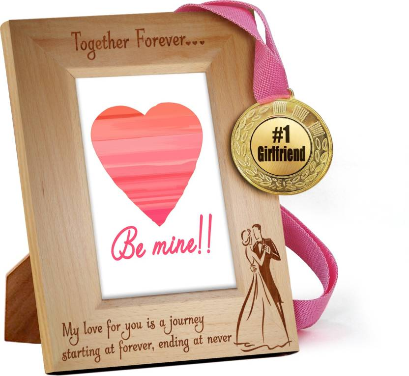 Tiedribbons Valentine S Day Gifts For Girlfriend Quoted Wooden Frame
