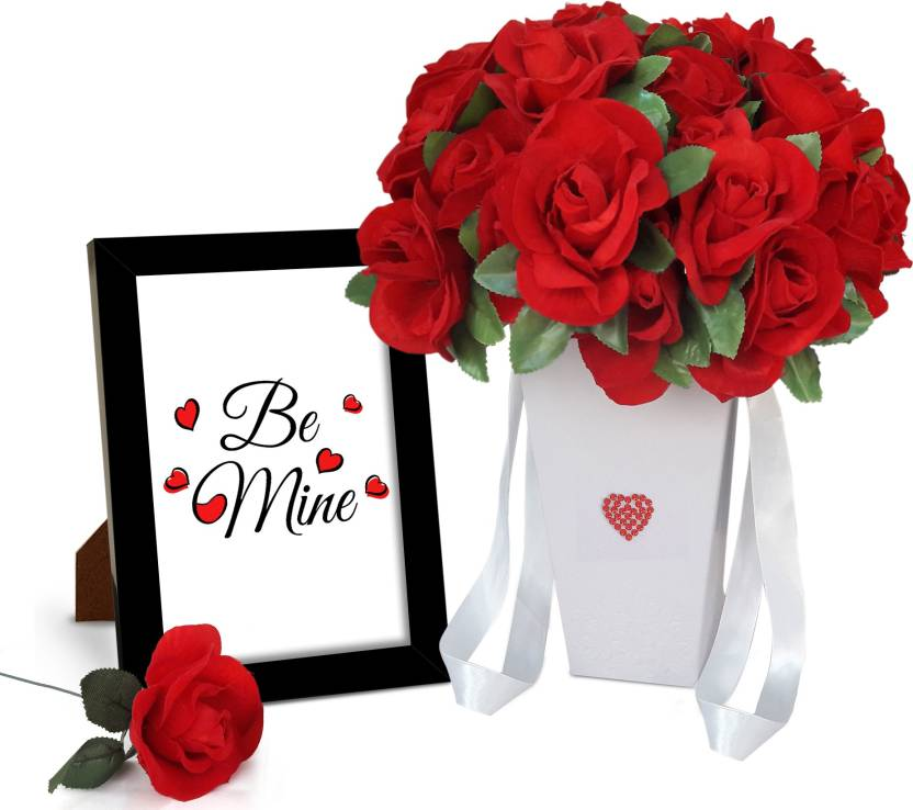 tiedribbons combo special gift for boyfriend hanging paper vase with