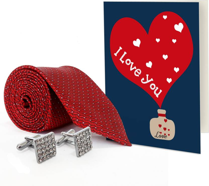 Tiedribbons Valentines Day Special Gift For Boyfriend Silver