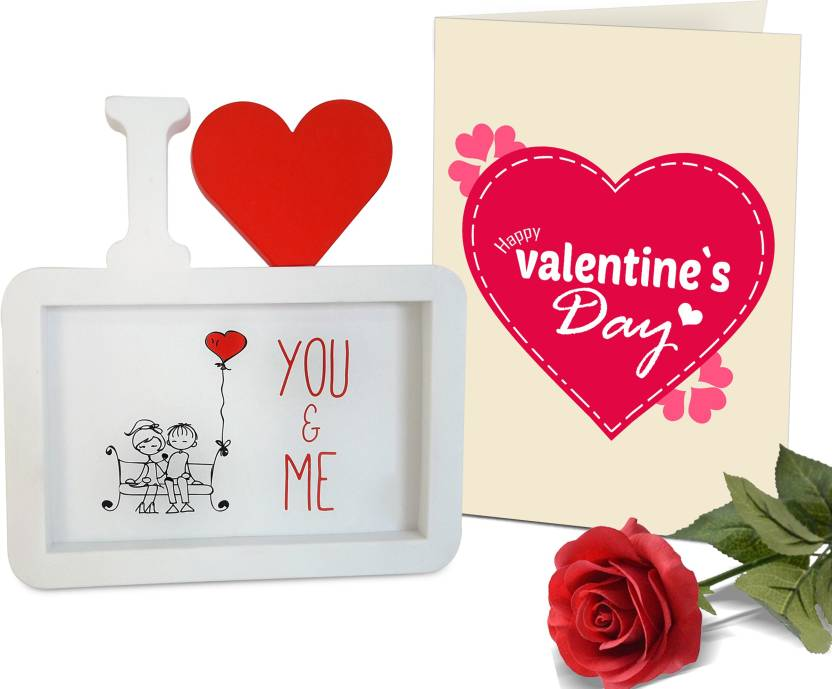 224512871db181 Tiedribbons Valentine's Day Gifts for Boyfriend Photo Frame(Image  Replaceable) with Red Rose and Greeting Card Photoframe Gift Set Price in  India - Buy ...