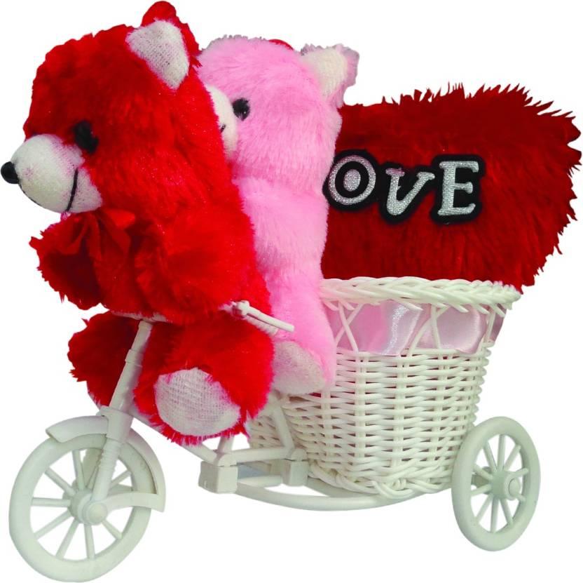 Valentines Day Tied Ribbons Soft Toy Gift Set at Flipkart  ₹ 419