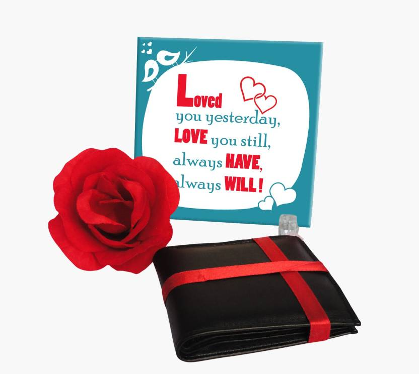 Tiedribbons Tied Ribbons Valentine Day Gift For Boy Friend Husband Fiance Message Tile Wallet Birthday Anniversary Love Treat Forever Promise Day