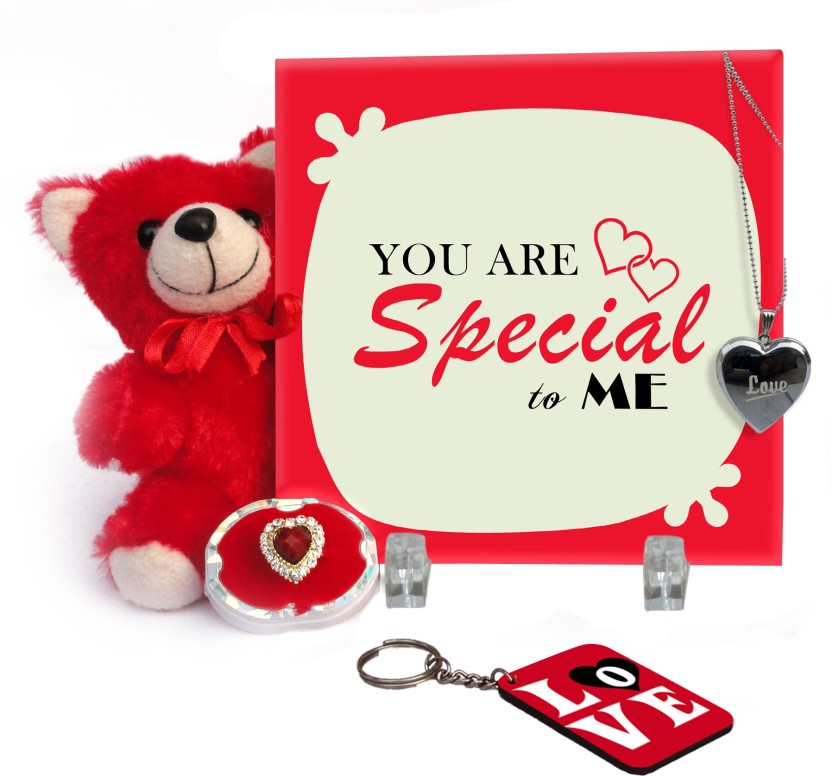 Tiedribbons Valentine Gift For Girl Friend, Fiancee, Wife With Love Message  Propose Day,
