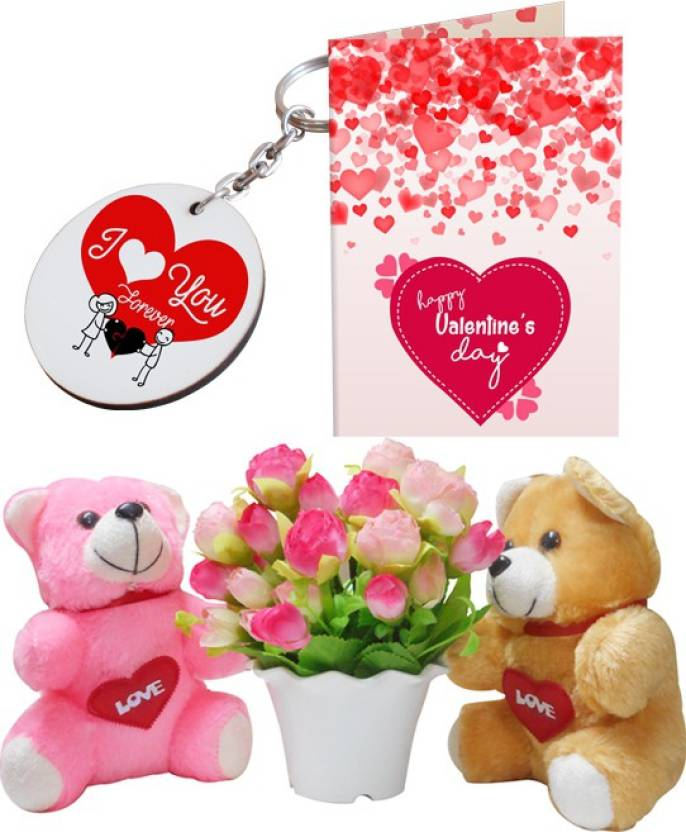 Sky Trends Valentine Propose Day Best Gift Flower Bunch For