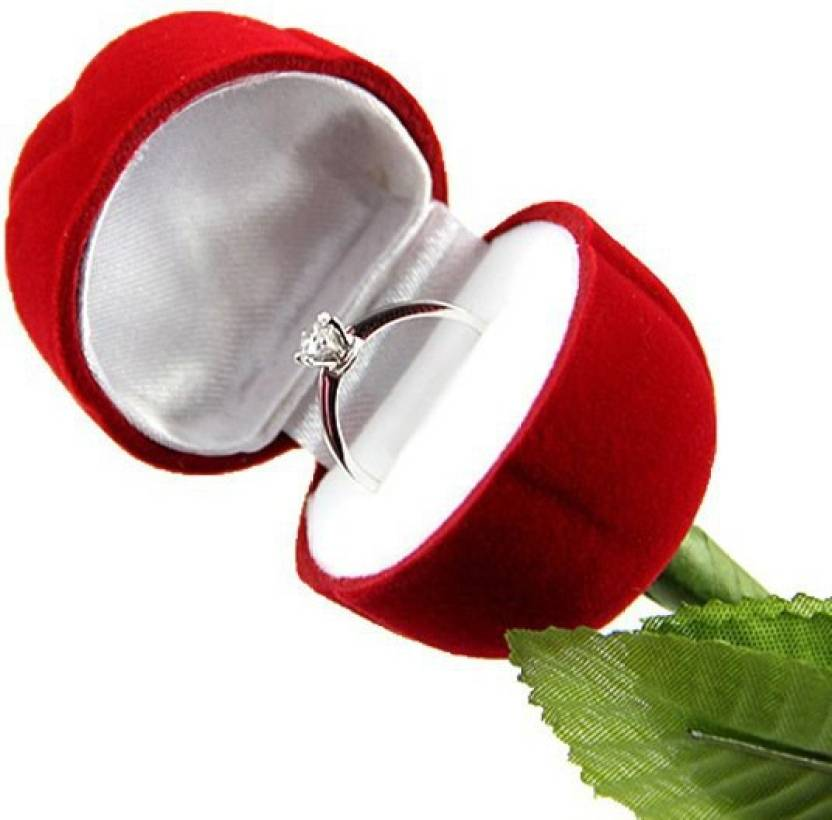 sukot rose shape ring holder jewelry holder vanity box price in