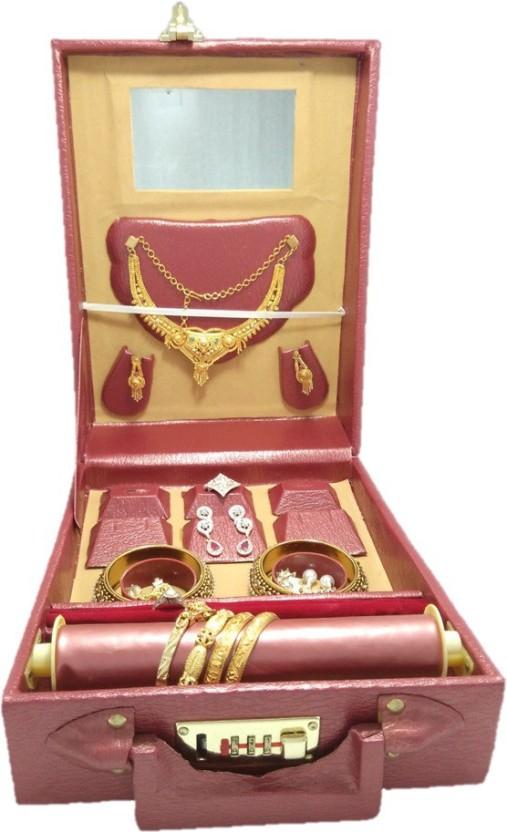 Lnc export quality nakles bangle storage jewelry box Jewellary storage Vanity Box  sc 1 st  Flipkart & Lnc export quality nakles bangle storage jewelry box Jewellary ...