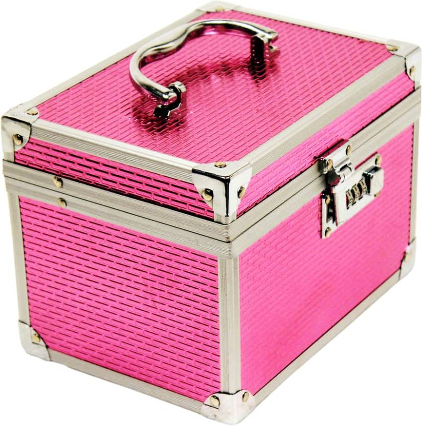 Bonanza Superior Makeup box Vanity Box (Pink)