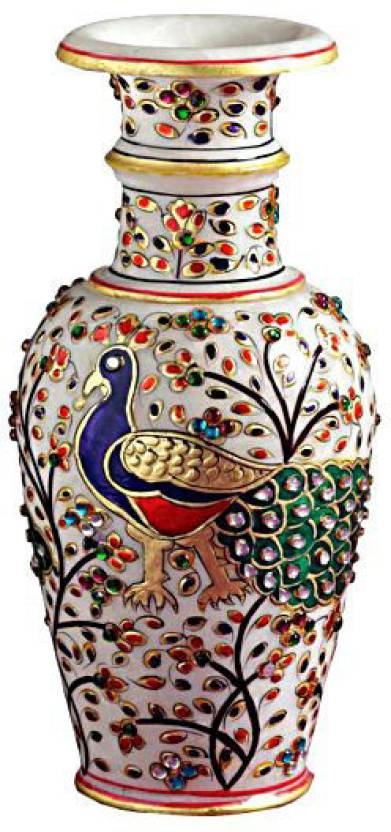 Chitra Handicraft Marble Flower Pot Stoneware Vase Price In India