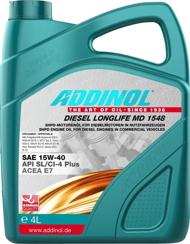 ADDINOL Diesel Long Life MD 15W40 Diesel Long Life Engine Oil