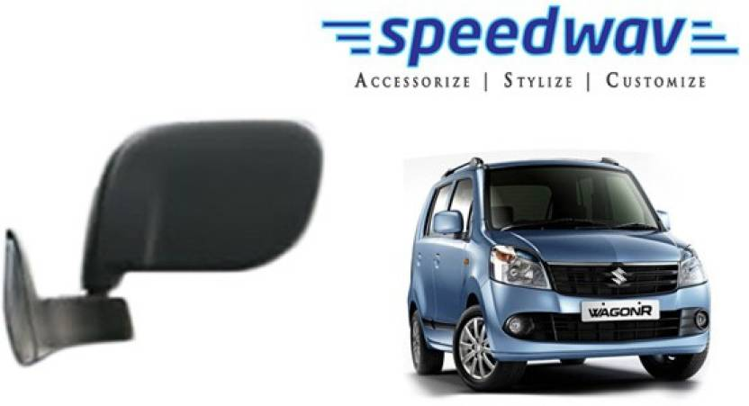 Speedwav Manual Rear View Mirror For Maruti Suzuki Wagonr Price In