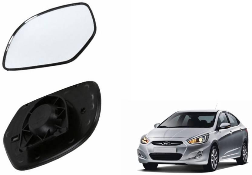 da68d15c51 Speedwav Manual Rear View Mirror For Hyundai Verna Price in India ...