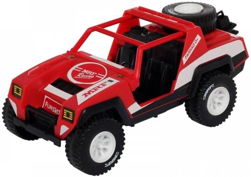 Funskool MRF Racing Jeep  (Red, Black, White)