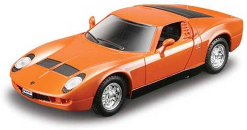 Maisto Power Kruzerz 4 5 Pull Back Action 1965 Lamborghini Miura