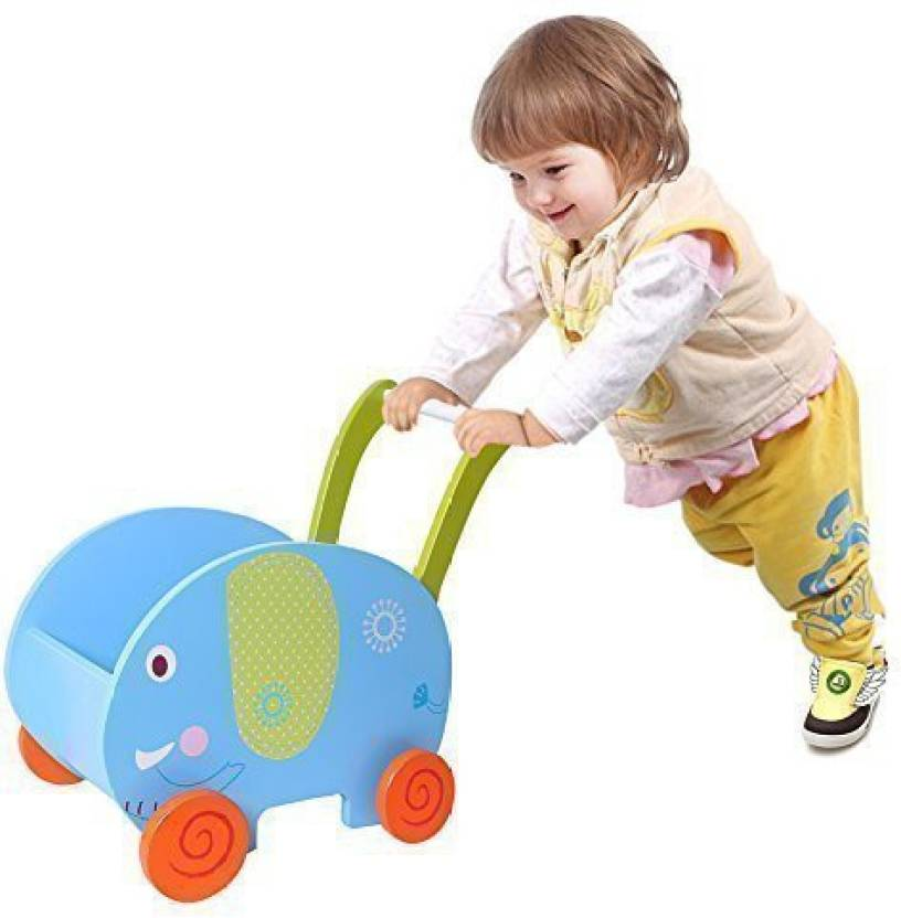 Labebe Shopping Cart Toy Box Baby Activity Walker Push And Play