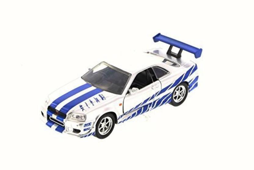 Jada New 1 32 W B Fast Furious 7 Brian S Nissan Skyline Gt R