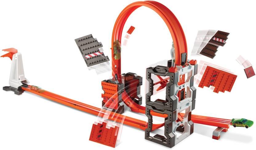 Hot Wheels Track Builder Contruction Crash Kit