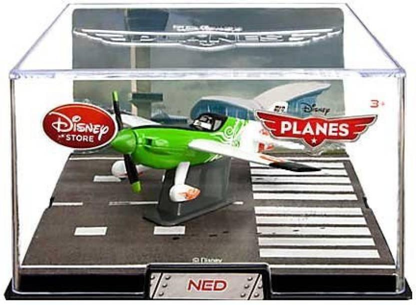 54d0c6c5ca Disney Pixar Planes Movie Toys, Action Figures, Diecast & Plush NED PLANE  Die Cast PLANE (Green, White, Black)