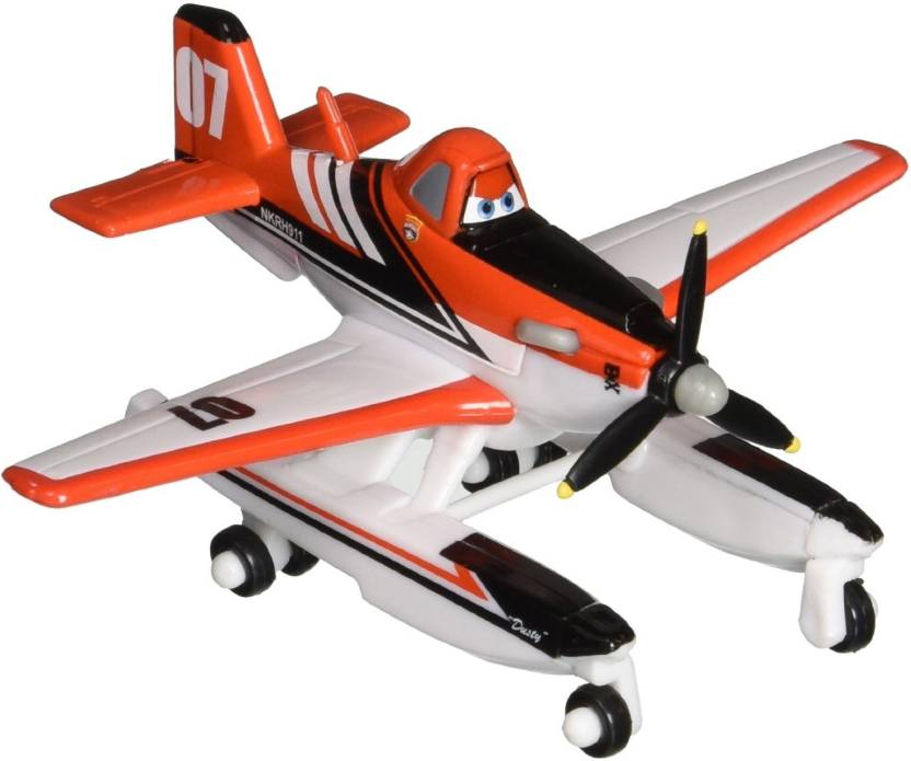 8f008f30a4 Mattel Disney Planes: Fire and Rescue Dusty with Pontoons Diecast Vehicle  (Multicolor)
