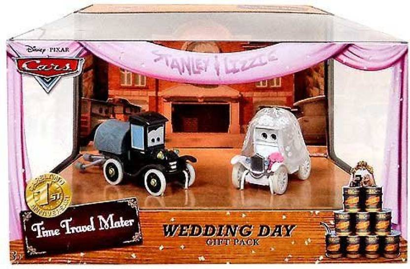 Mattel Disney Cars Time Travel Mater Stanley And Lizzie