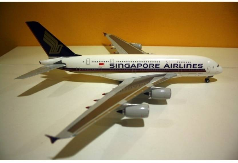Hogan Wings Airbus A380 Singapore Airlines, Scale 1:200 With Stand ...