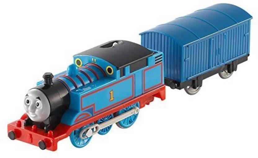 a54c341e246966 Fisher-Price Thomas The Train - TrackMaster Thomas & cargo car (Blue, Black)