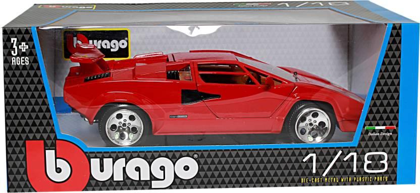 Bburago Lamborghini Countach 5000 Quattrobalvole Lamborghini