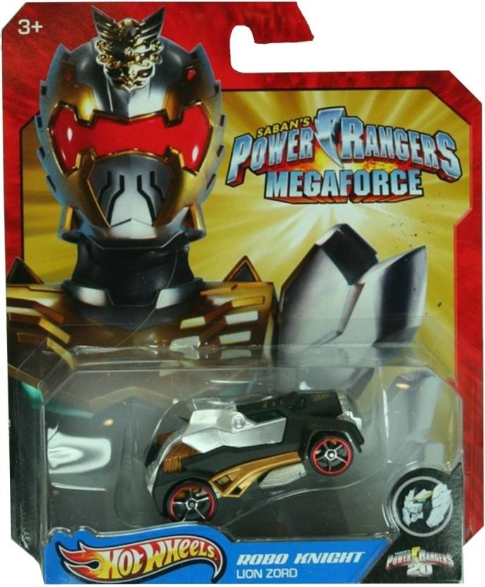 Hot Wheels Power Rangers Megaforce - Robo Knight Lion Zord