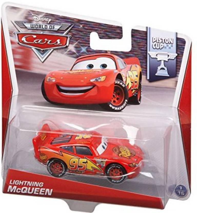 Mattel Disney Pixar Cars Lightning Mcqueen Cast Vehicle