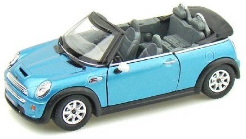 11c305f757 Kinsmart Mini Cooper Convertible Blue - Mini Cooper Convertible Blue ...