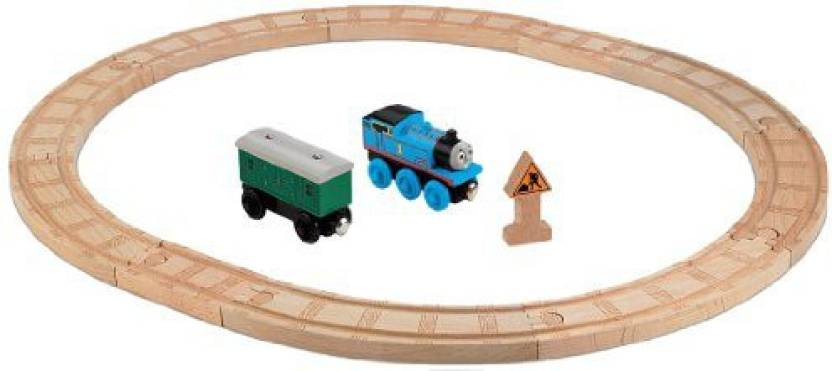 Fisher Price The Train Wooden Railway Oval Starter Set The Train