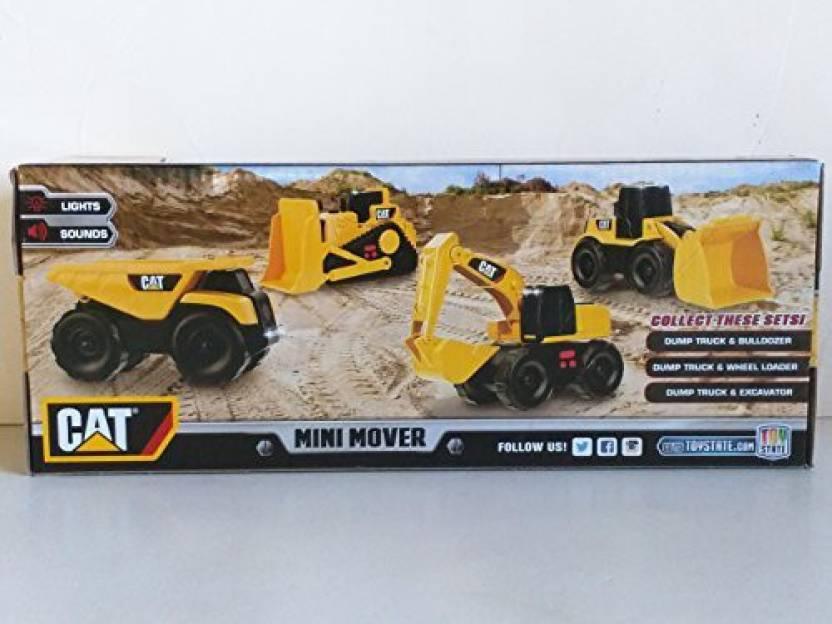 CATERPILLAR Cat Mini Mover Dump Truck & Excavator Construction Toy