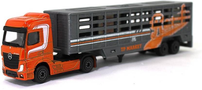 Majorette Mercedes-Benz Actros animal carrier truck