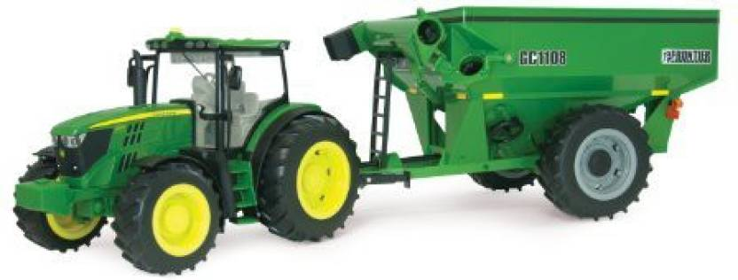 ERTL Big Farm 6210R Tractor With Grain Cart - Big Farm 6210R