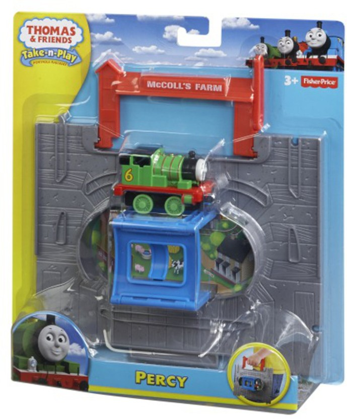 THOMAS /& FRIENDS TAKE-n-PLAY  PERCY