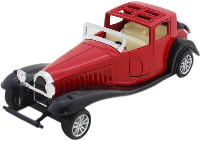 Tootpado Vintage Model Toy Car Diecast Material With Pull Back ...