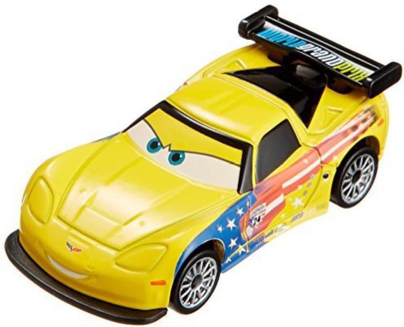 Takara Tomy Tomica Disney Pixar Cars Jeff Gorvette C 27 Japan