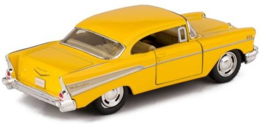 Kinsmart 1957 Chevy Bel Air Die Cast Toy With Pull Back Action