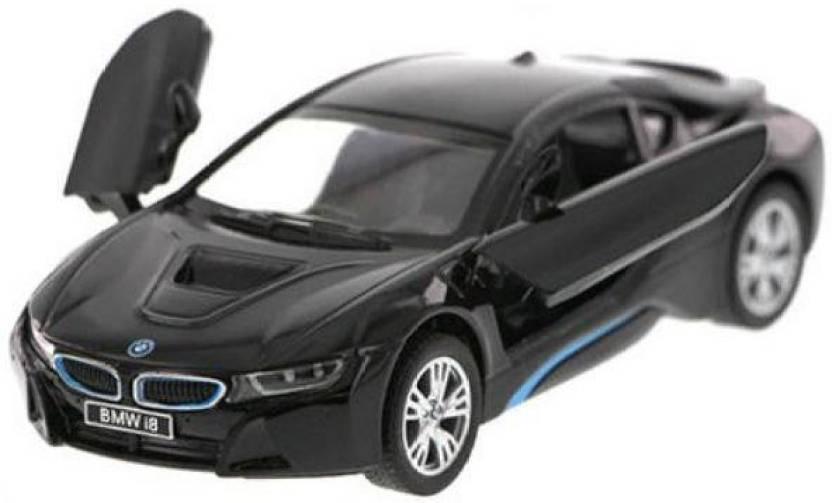 Kinsmart Bmw I8 1 36 Black Cast Scale Model Car