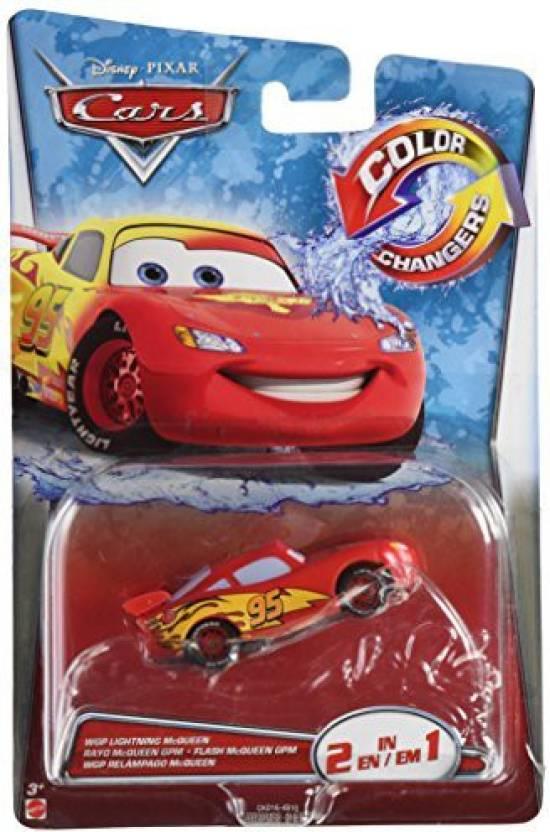334e48af0a0 Mattel disney pixar cars color Changer Lightning Mcqueen - disney ...