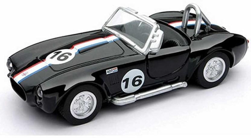 """Brand New 5/"""" Kinsmart 1965 Shelby Cobra 427 S//C Diecast Model Toy Car 1:32 White"""