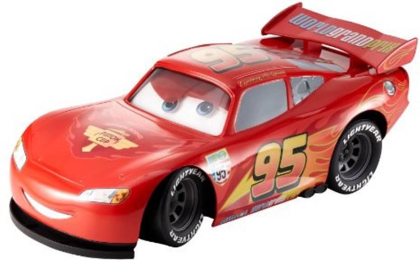3fd53f21e68 Mattel Disney Pixar Cars Big Personality Lightning Mcqueen Vehicle (Red)