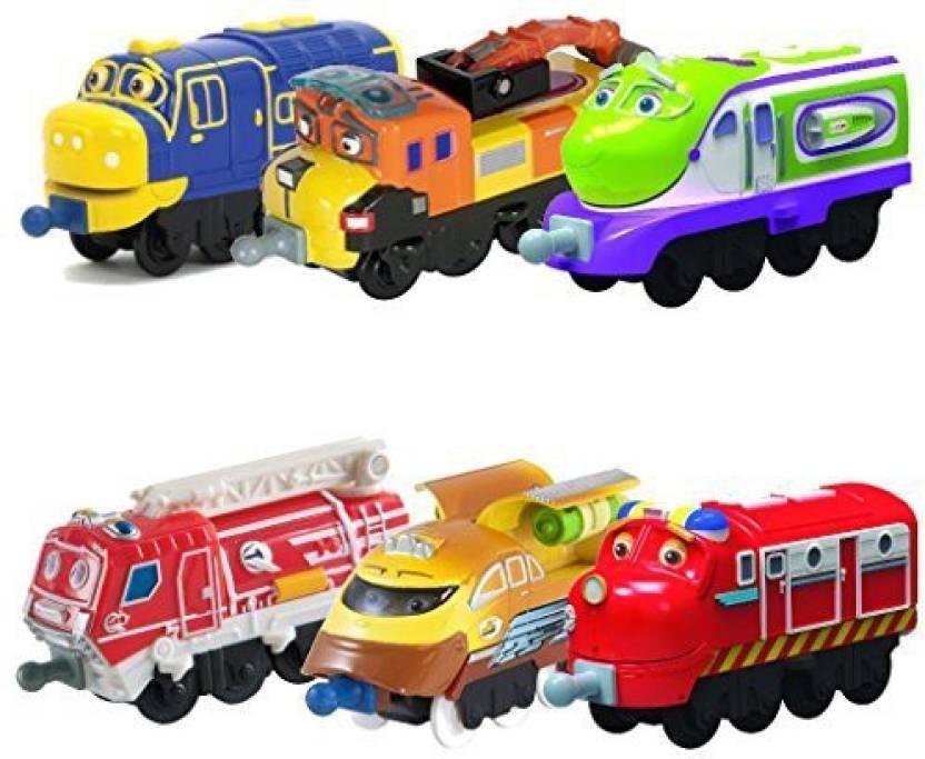 Tomy Chuggington Stacktrack Toy Train Set 6Pk Brewster, Skylar, Chug ...