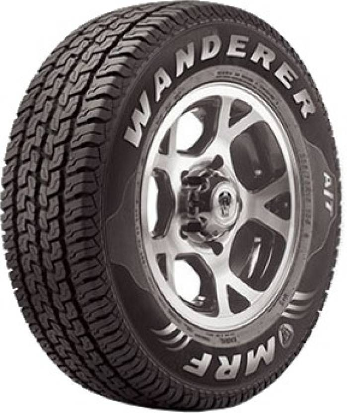 Mrf Wanderer 4 Wheeler Tyre Price In India Buy Mrf Wanderer 4